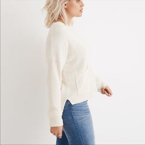 Madewell Patch Pocket Pullover Sweater M